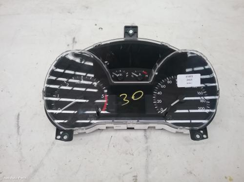 #46912, Used instrument cluster for 2015 bt50  instrument cluster, manual  t/m type, 2wd, up-ur, 10/11-