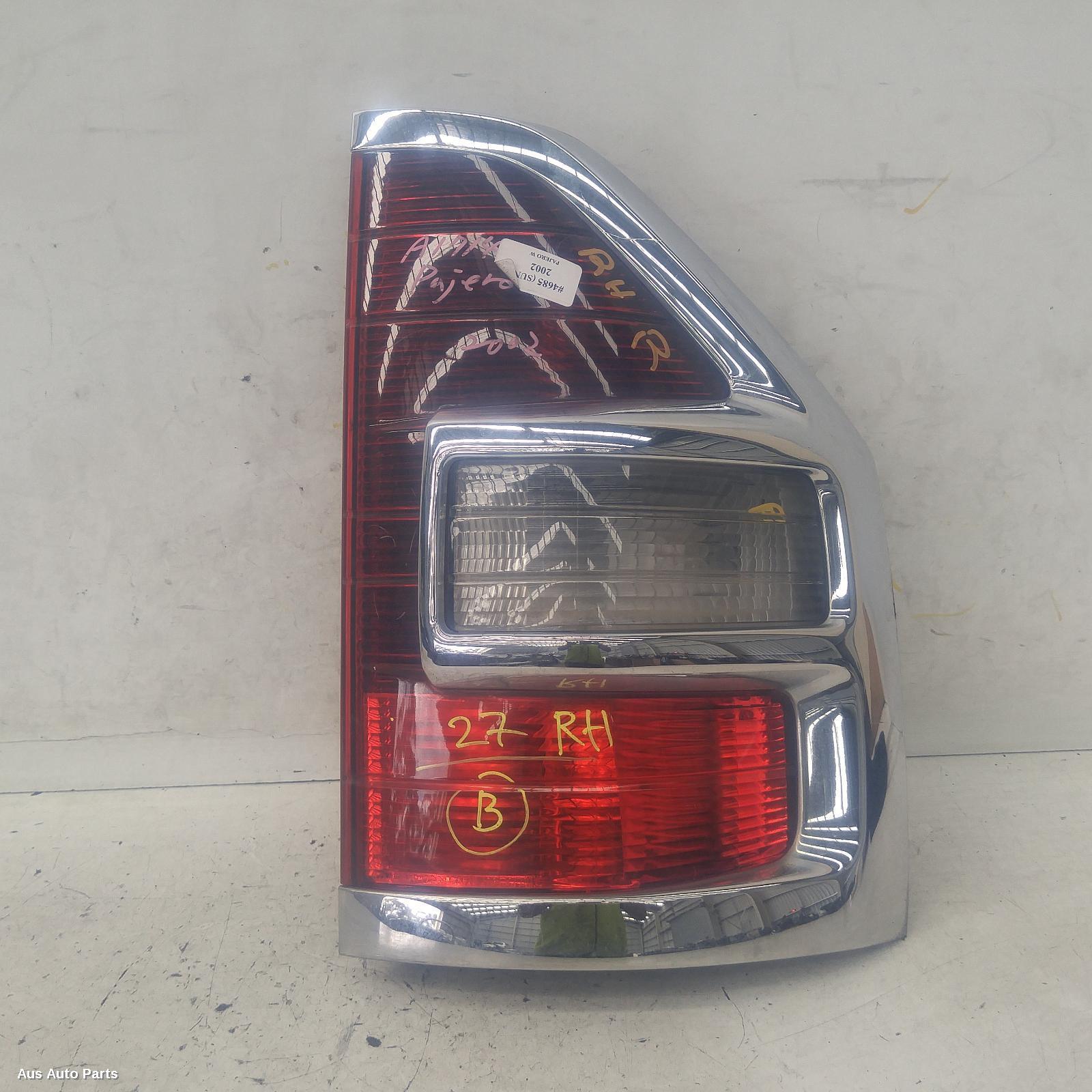 Bumper End Right Side Rear For Mitsubishi Pajero Nm 2000-2002