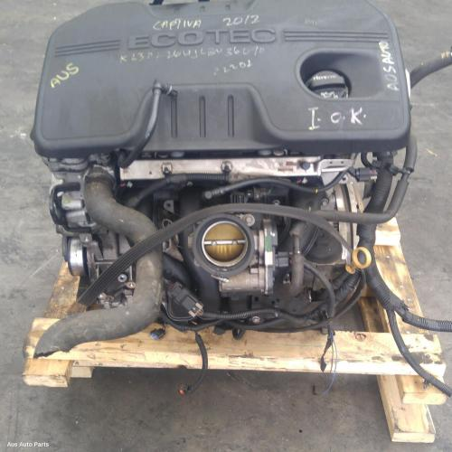 117115 Used Engine For 2012 Captiva Petrol 2 4 Le9
