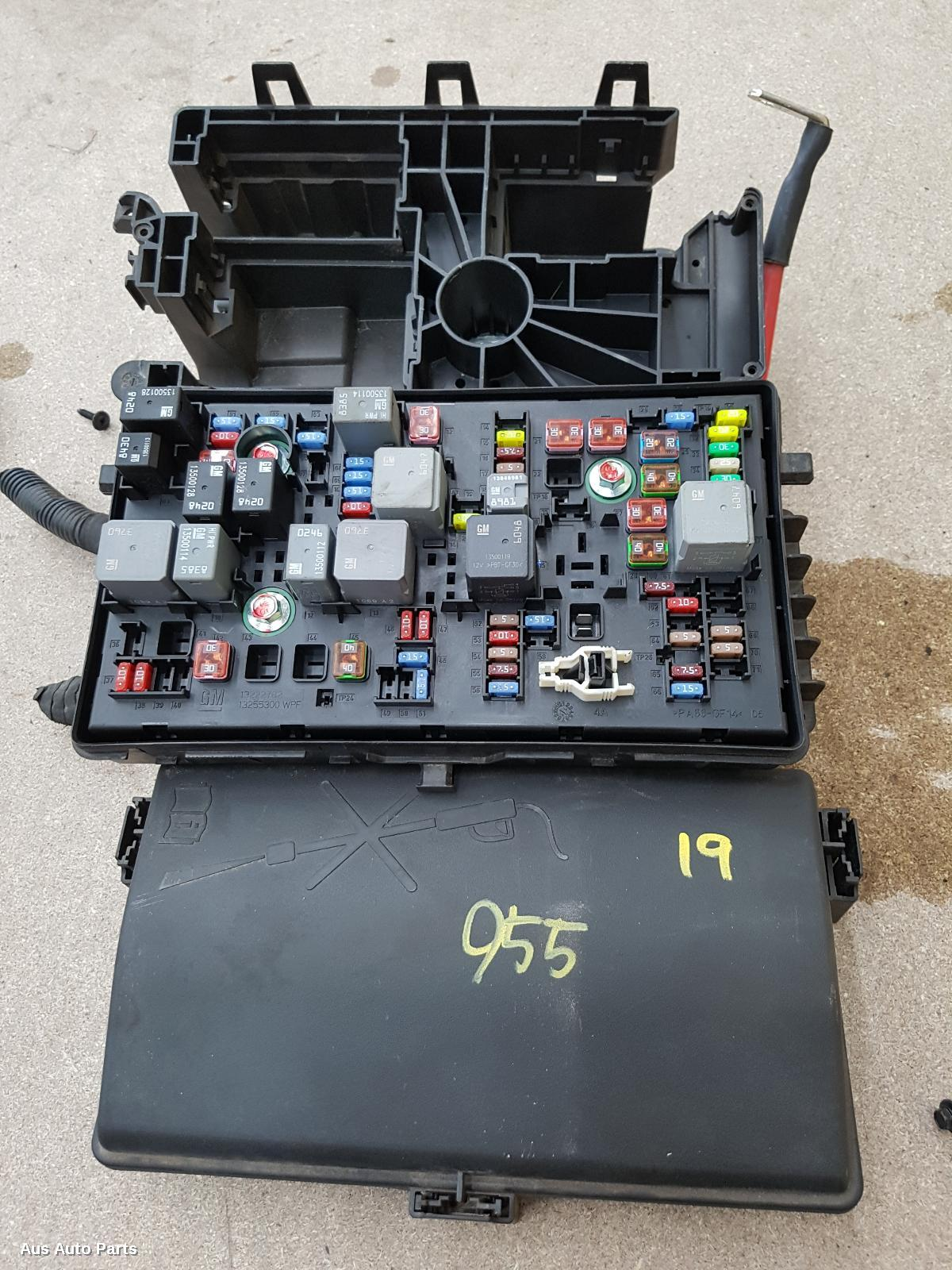 Result Fuse Box For Holden Cruze