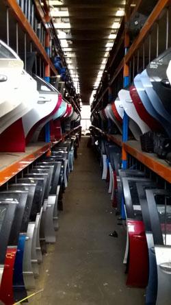Aus Auto Parts Warehouse #3 Door section